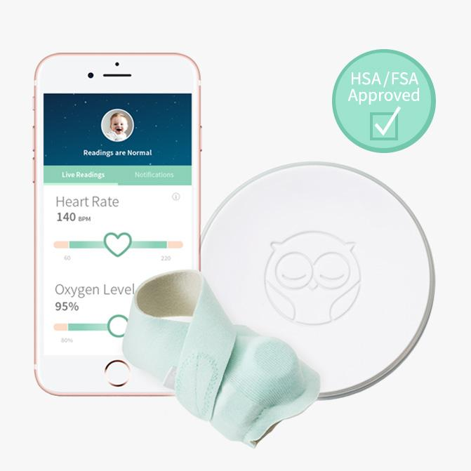 Owlet Smart Sock Pulse Oximetry